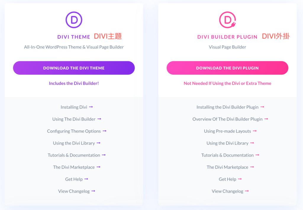 Divi Theme or Divi Builder Plugin
