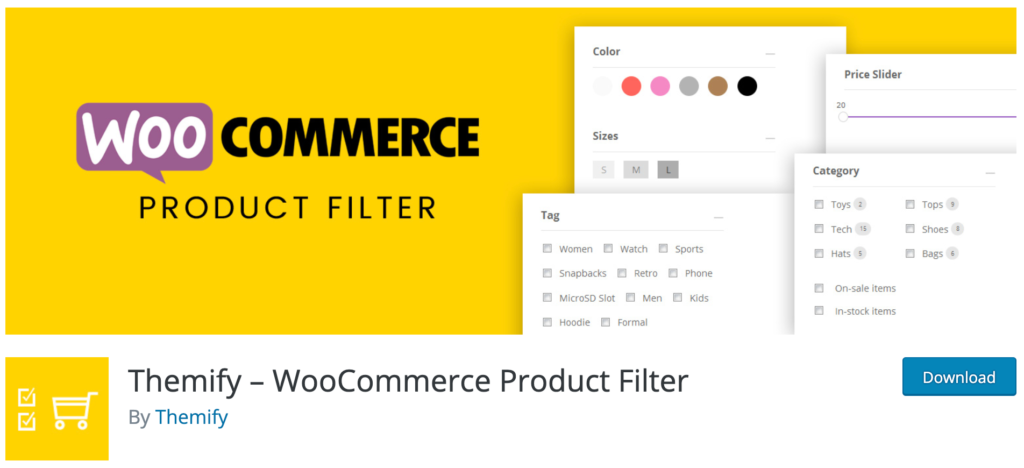 Themify - WooCommerce Product Filter