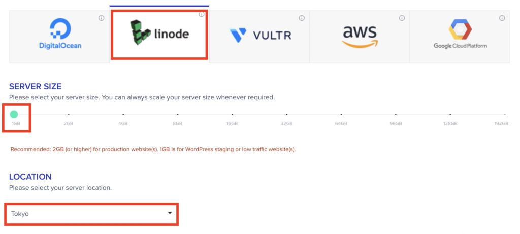 choose linode hosting